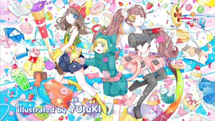 YUtuKI作のエンドカード