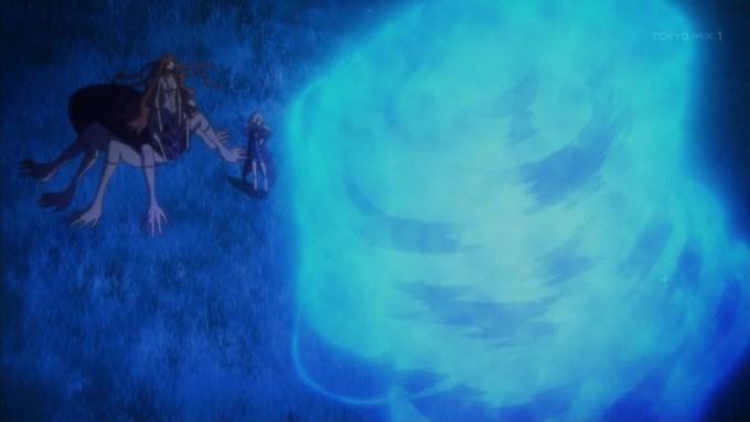 ウィル・オー・ウィスプの青い火