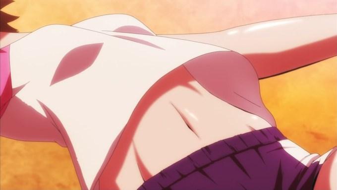 小幡唯の腹筋