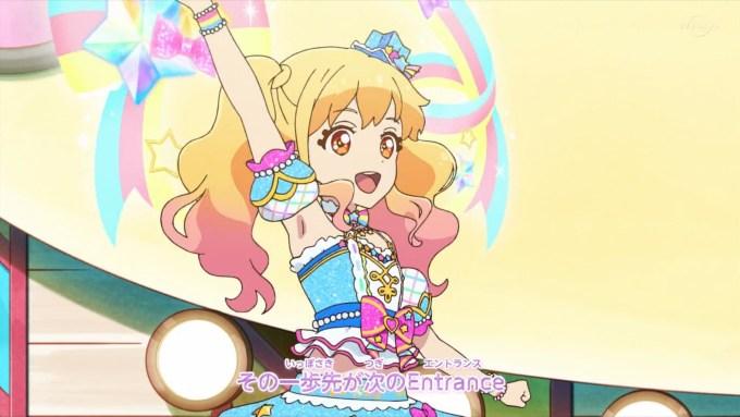 アイカツオンパレード!のオープニングアニメーション10