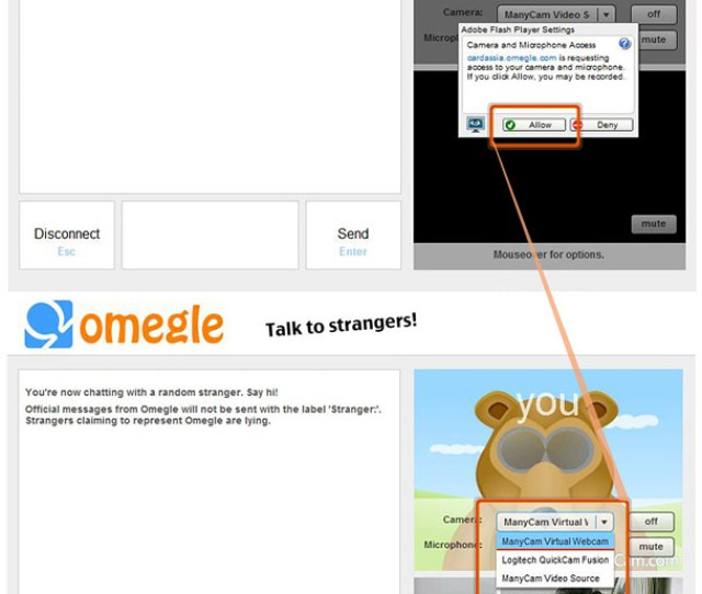 Manycam For Omegle