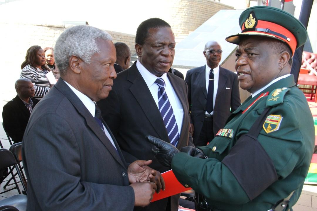 Image result for chiwenga and mnangagwa
