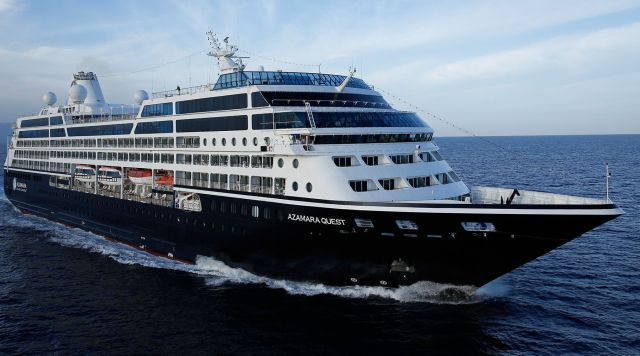 best cruises for couples: azamara club cruises