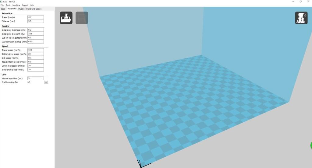 激安3Dプリンター「Anycubic i3 Mega 3D」付属ソフト「Cura」の