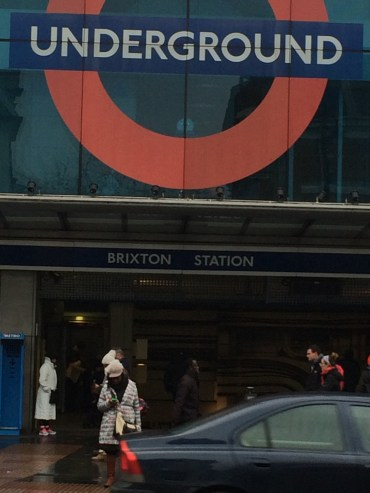 Chilly day in Brixton