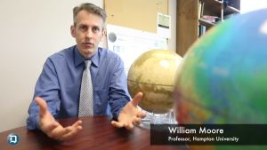 William Moore of Hampton University, and principal investigator of the Living, Breathing Planet team.