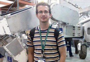 Biogeochemistry postdoc Andrew Rushby arrived at Ames last month and will remain for two years, with some of his time dedicated to the NExSS program.
