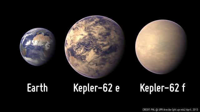 Kepler-62e has been described as being a possible waterworld, with large oceans. UPR Arecibo