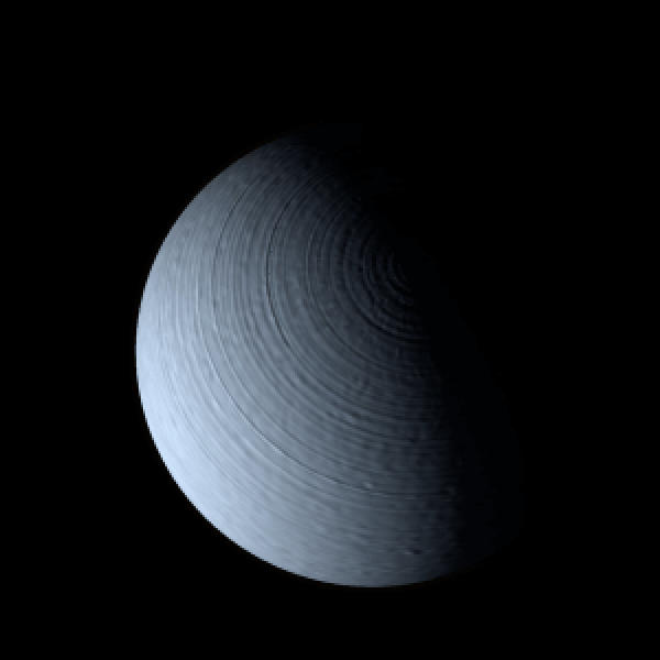 Rendering of gas giant planet, WASP-62b