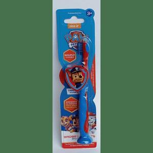 Cepillo dientes ergonómico patrulla canina