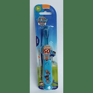 Cepillo dientes luminoso patrulla canina