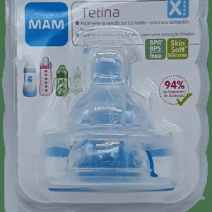 Tetina de flujo rápido 6+ Mam