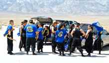 UCLA Kyodo Taiko preparing to open the 44th Annual Manzanar Pilgrimage