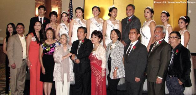 Honorees at the 2016 Nisei Week Awards Dinner, Photo: J.K. Yamamoto/Rafu Shimpo