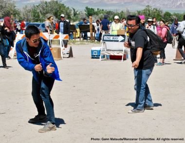 Onto dancing closes the annual Manzanar Pilgrimage each year