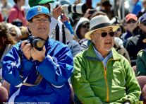 "Manzanar Committee""s Gann Matsuda (left) and Warren Furutani (right)"