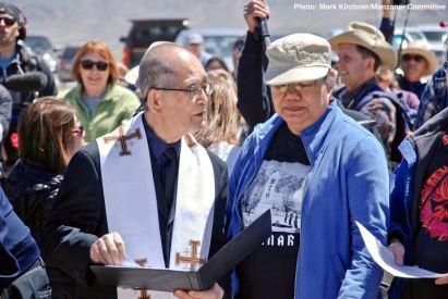 Rev, Dickson Yagi (left)