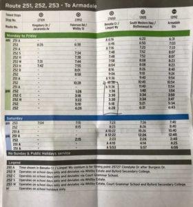 コフヌコアラパーク バス時刻表