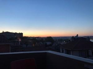 イスタンブールの夕日