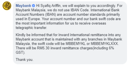 LATEST] Swift Code Maybank Code Malaysia IBAN Number