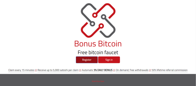 So, if you enable a ads block plugins you may fail to claim action. bonus bitcoin register