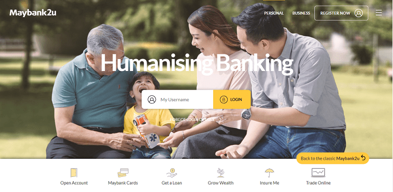 How to activate Maybank2u Online Banking