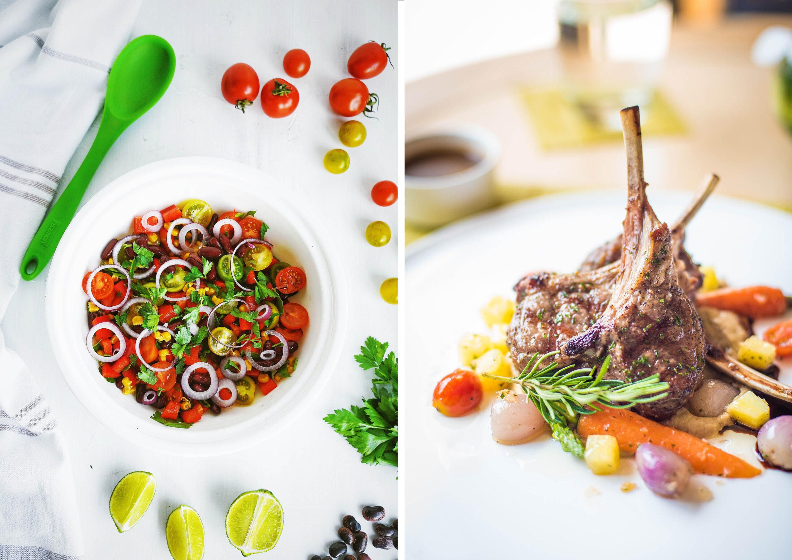 סטיק או סלט לארוחת ערב, מה תבחרו?