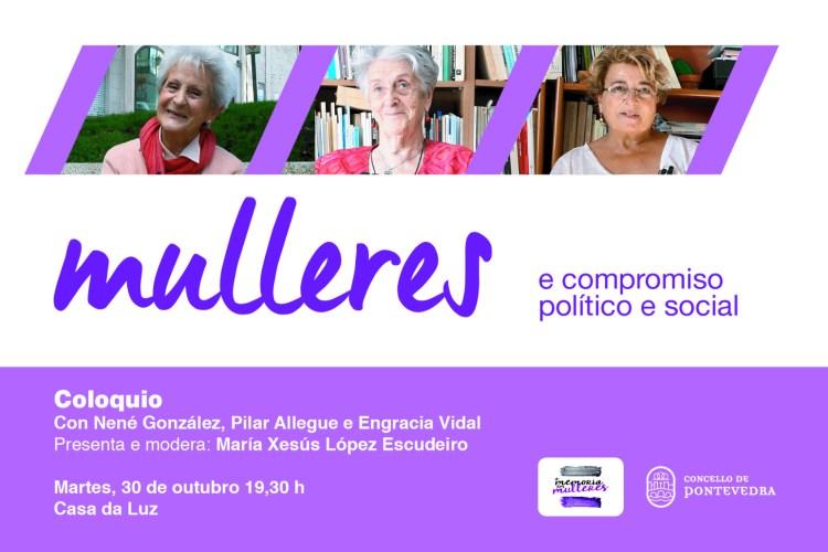 Acto Mulleres e compromiso político e social