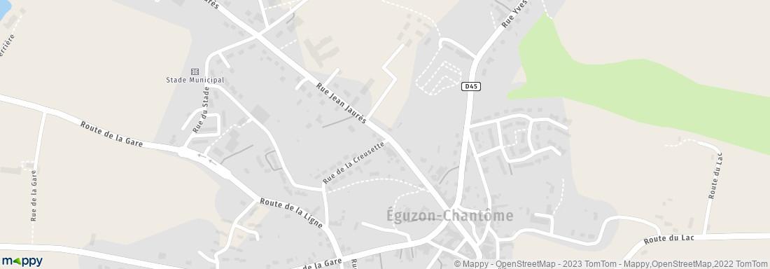 Korian Le Hameau d'Eguzon, 24 r Jean Jaurès, 36270 Eguzon