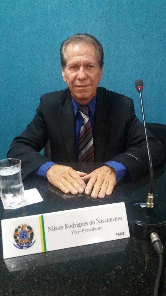 Vereador Nilson Rodrigues.