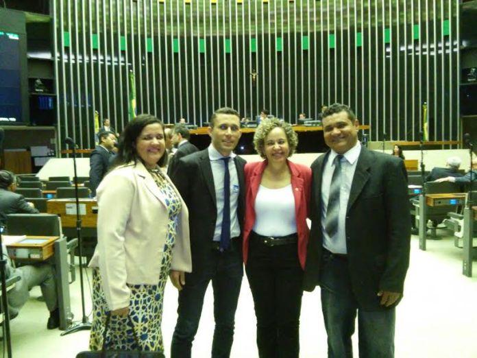 Márcia Araujo, Fabio Gonçalves, dep, federal Josi Nunes e Jamiltom Guedes.