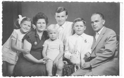Rodzina Błaszczyków.