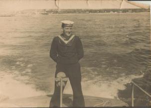 Marian Kosz w wojsku.
