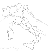 Mapa De Italia Mudo.Aprende Italiano