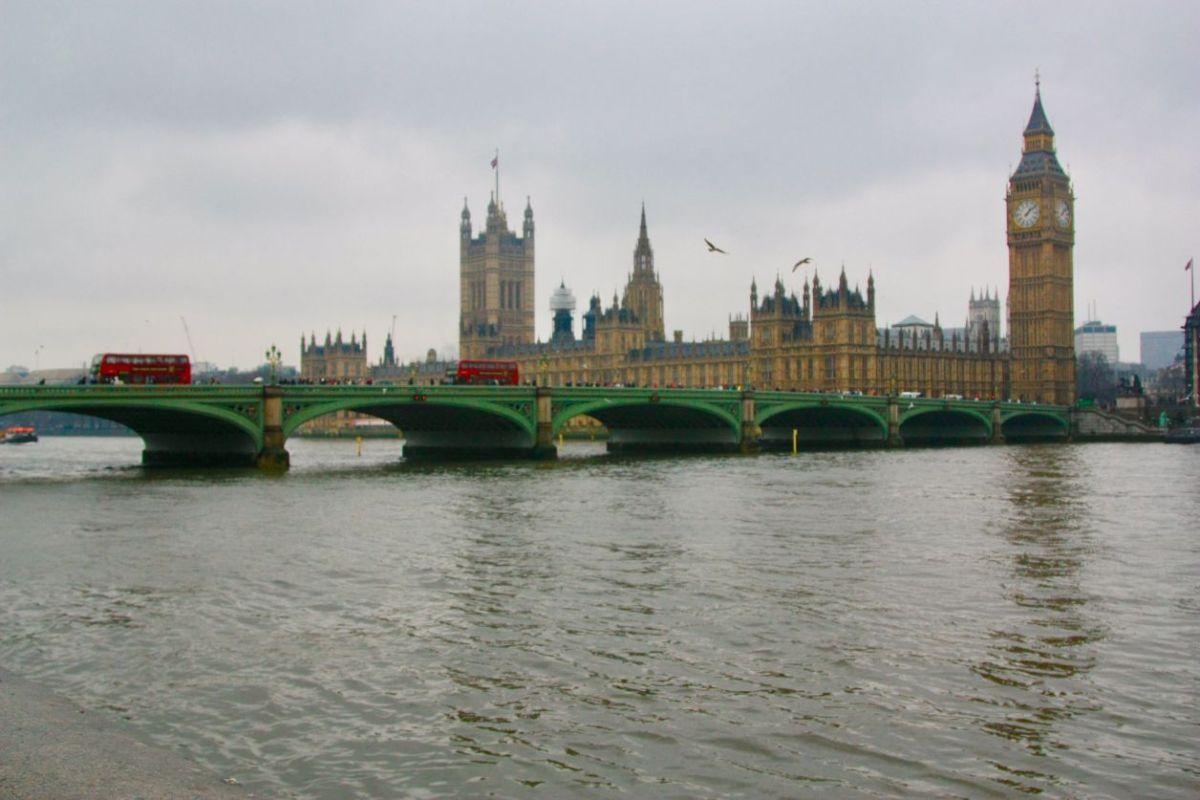parlamento e big ben em londres