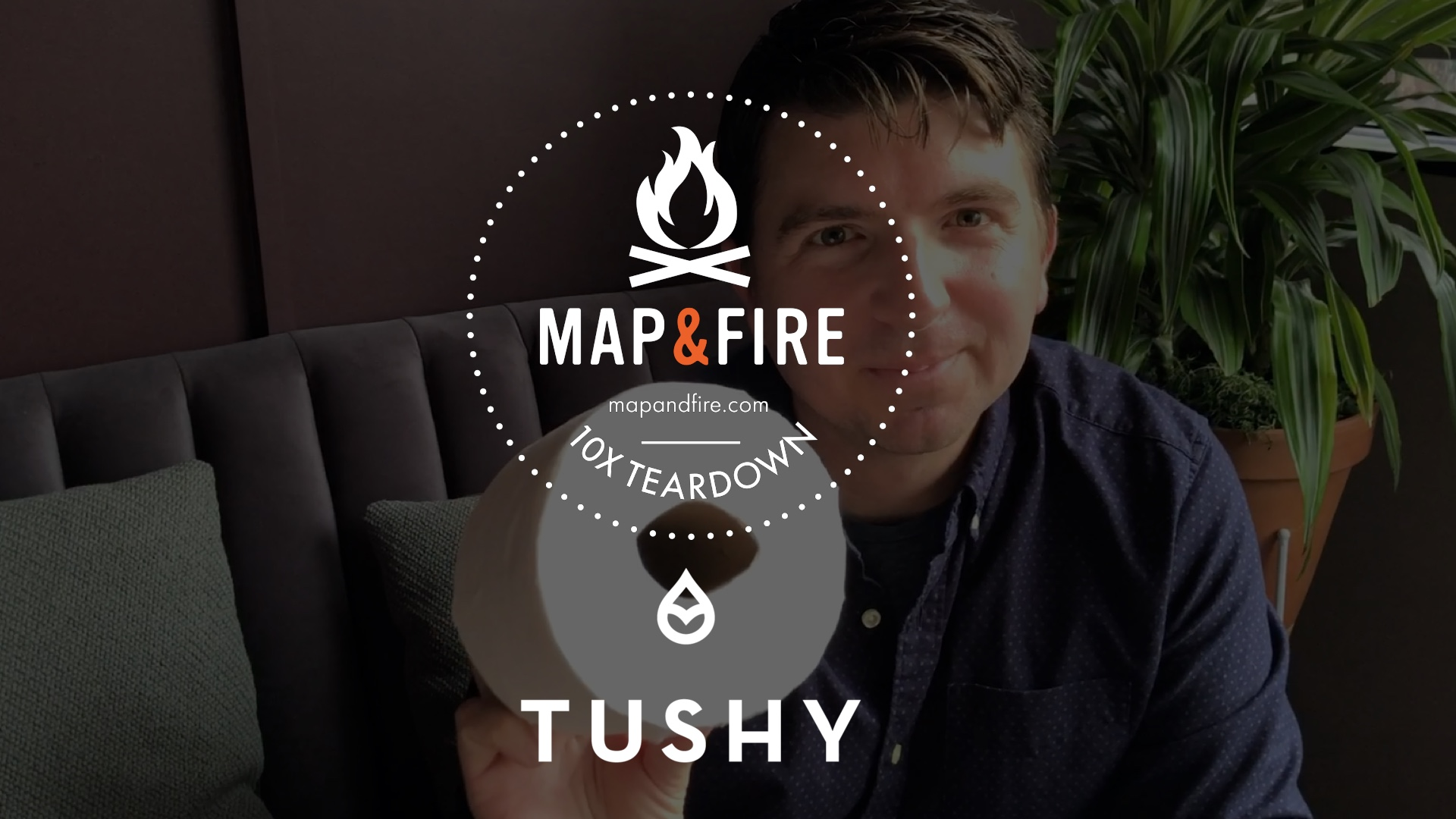 Map And Fire Tushy 10x Youtube Thumbnail