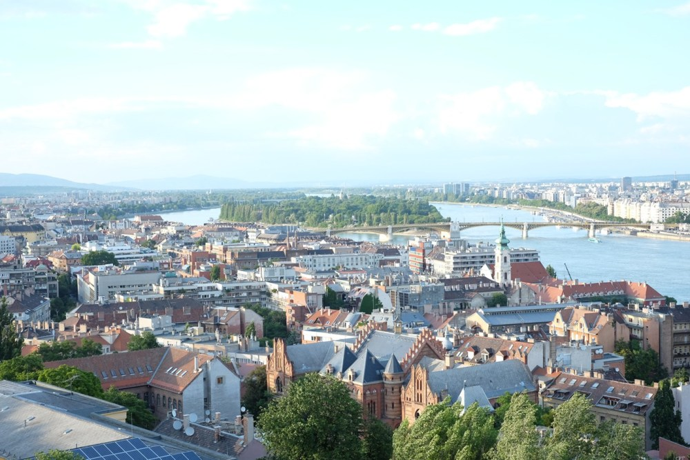 The view from Fisherman's Bastion