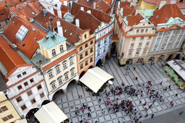 Offbeat Prague: Street view from the Astronomical Clock
