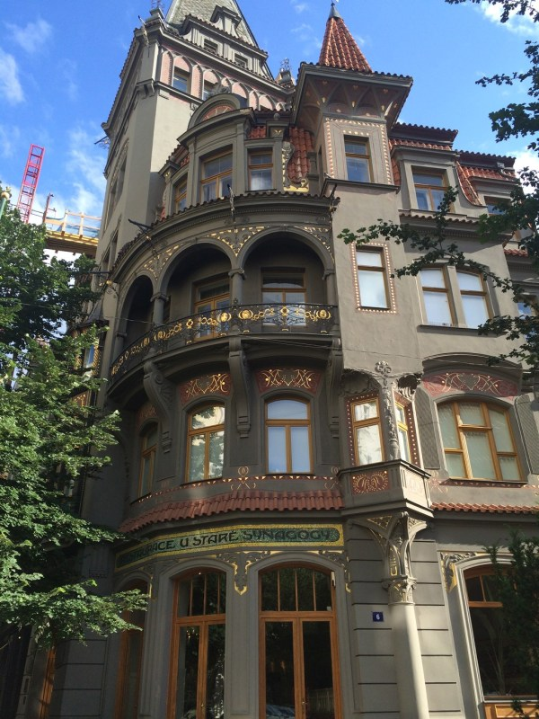 Offbeat Prague: Funky apartment buildings in the Jewish quarter