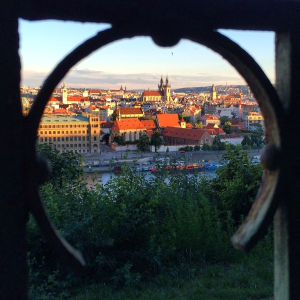 Offbeat Prague: Red roof views from Letna Park