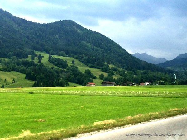 Offbeat Munich: Landscapes while driving through Bavarian Alps