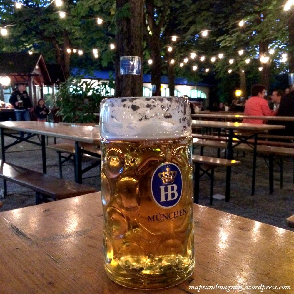 Offbeat Munich: Beer mugs at the beergarden