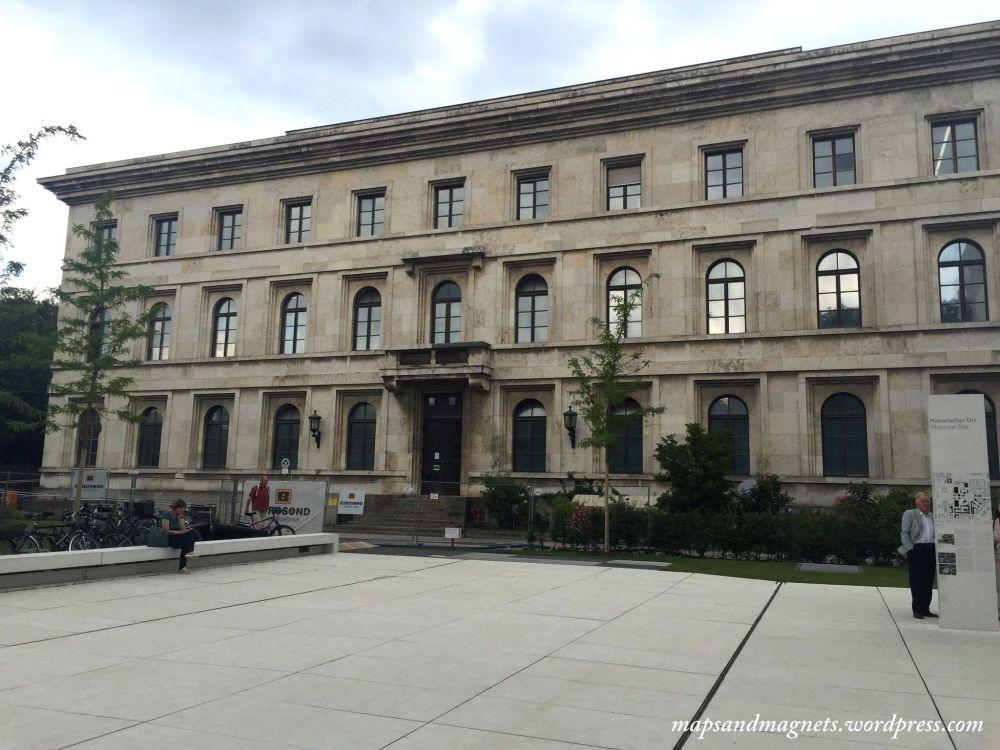 Offbeat Munich: Site of the Nazi headquarters
