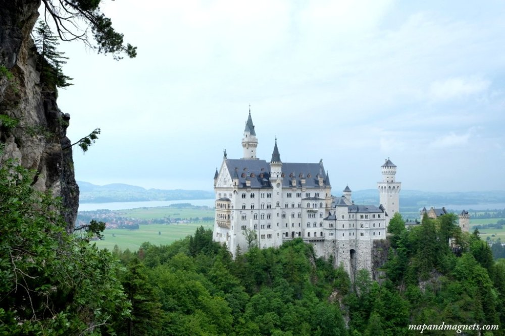 Neuschwanstein Castle is one of the best places to visit in Germany