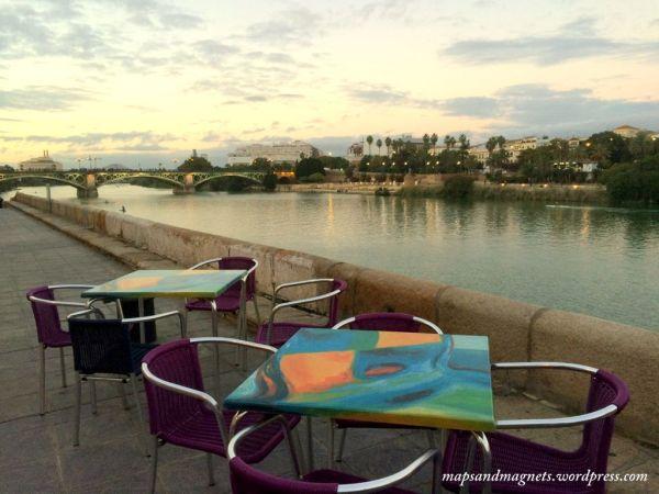 seville-sunset-river