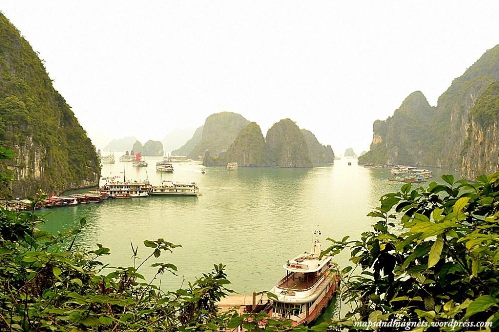 panoramic view ha long bay