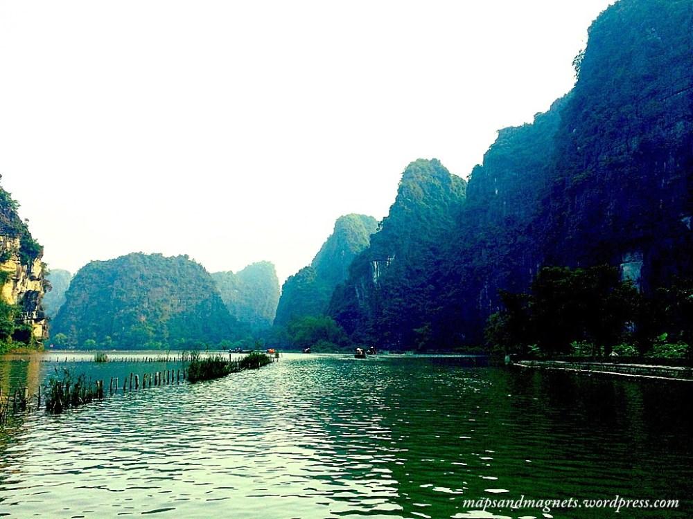 Tam Coc lake