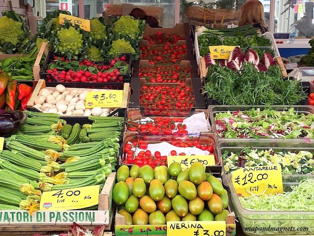 testaccio vegetable market