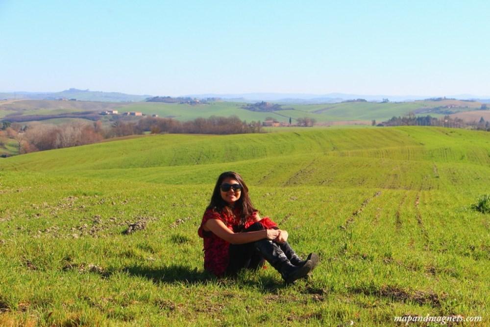 Hills of Tuscany road trip