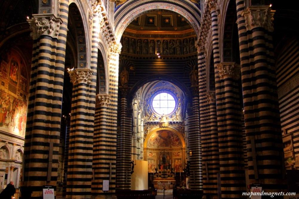 Siena Duomo on the inside